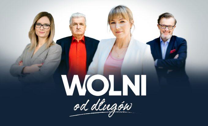 """Plakat programu """"Wolni oddługów"""""""