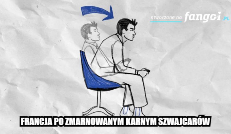 Mem po meczu Francja – Szawjcaria
