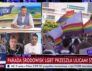 Komentatorzy TVP Info ostro o LGBT. Rachoń polecił piosenkę rapera,...