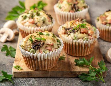Jak w 2 minuty zrobić wytrawne muffiny z... grzybami? Obłędnie smaczny...