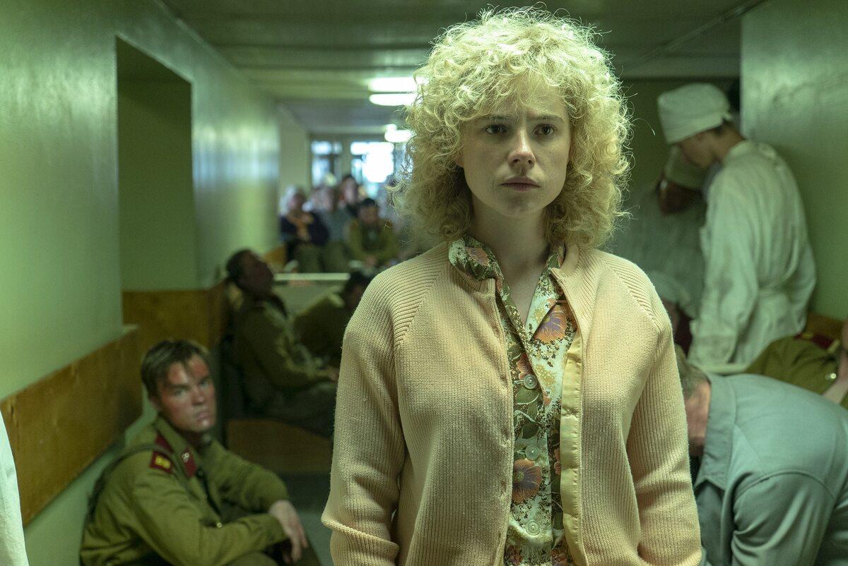 "Kadr z serialu ""Czarnobyl"""