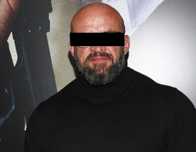 Tomasz O., znany polski aktor i zawodnik MMA, z zarzutami. Prokuratura...