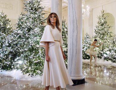Co za przepych! Melania Trump udekorowała Biały Dom na Boże Narodzenie