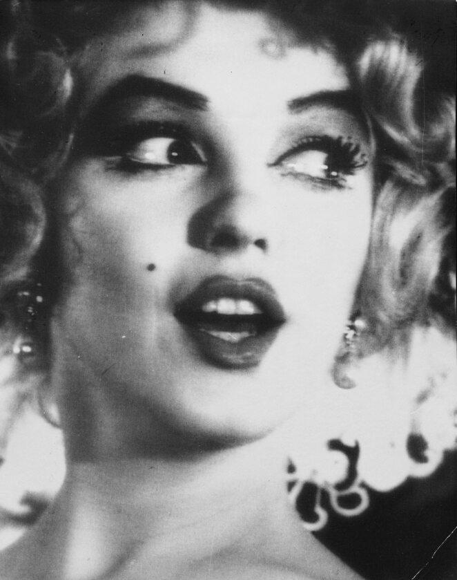 Marilyn Monroe z filmu Książę i aktoreczka