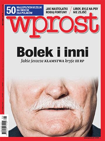 Okładka tygodnika Wprost nr 8/2016 (1725)