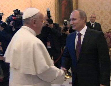 Putin przyjechał do papieża. Przywiózł mu ikonę