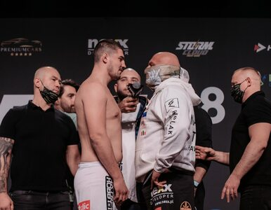 """Skandal podczas walki Najmana w Fame MMA. """"Niech idzie Jasnej Góry bronić"""""""