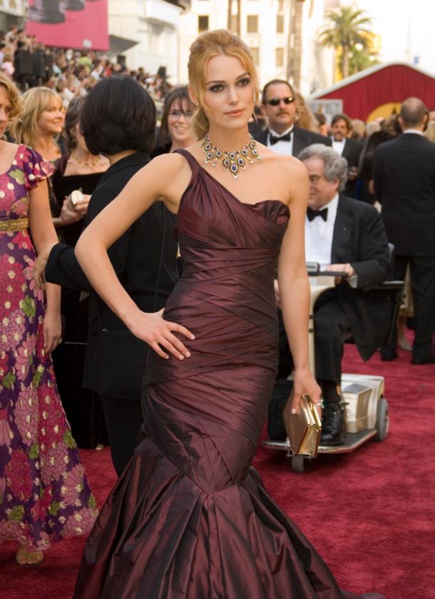 Keira Knightley podczas 78. ceremonii rozdania Oscarów w 2006 roku