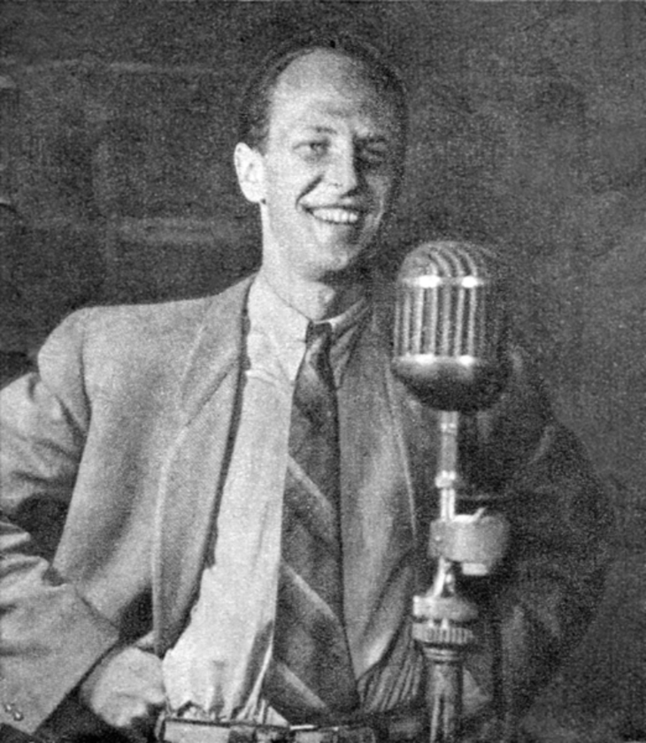 Jeremi Przybora w 1951 roku