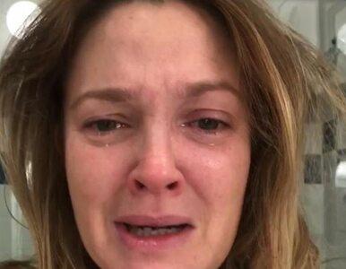 Zapłakana Drew Barrymore pyta internautów: Też tak macie?