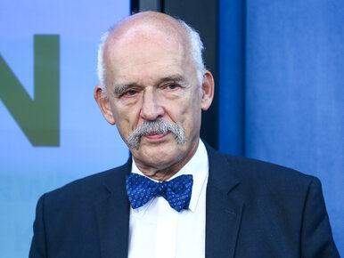 """Korwin-Mikke broni oblewania wodą w Lany Poniedziałek. """"Zwolennicy..."""