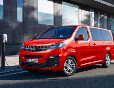 Opel Zafira w wersji eko. Jest cennik bezemisyjnego modelu Life