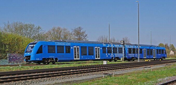 Wodorowy pociąg Coradia iLint produkowany przez Alstom
