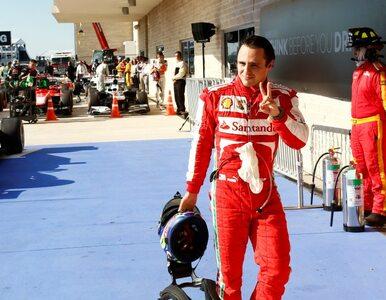 Massa: płacenie za starty w F1 to prostytucja