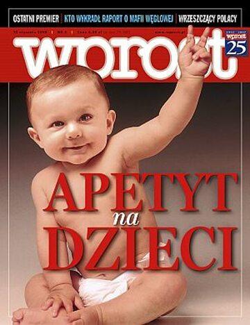 Okładka tygodnika Wprost nr 2/2008 (1307)