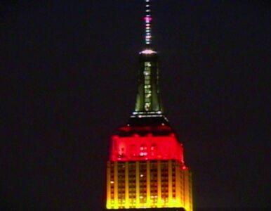 Amerykanie docenili mistrzów. Empire State Building w barwach Niemiec