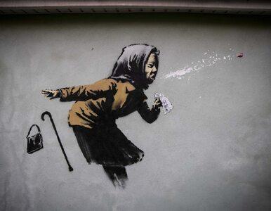 Nowy mural Banksy'ego w Bristolu. Nawiązuje do pandemii koronawirusa