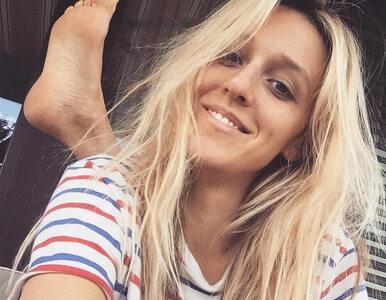 """Aleksandra Żebrowska pokazała zdjęcie, na którym karmi piersią. """"Może..."""