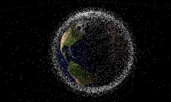 Skaner kosmicznych śmieci