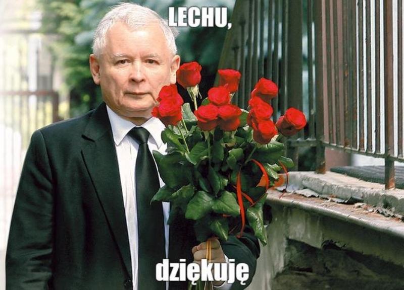 Mem po wystąpieniu Lecha Wałęsy na konwencji Koalicji Obywatelskiej