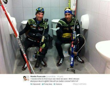 Biathloniści potwierdzają: w Soczi są… podwójne toalety