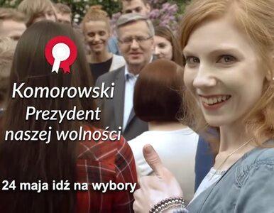 """""""Komorowski, lubię to"""". Nowy spot prezydenta"""