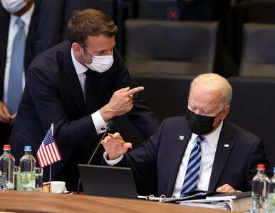 """Urażone ego, czyli gigantyczna awantura Francji z USA. """"Biden gorszy od..."""