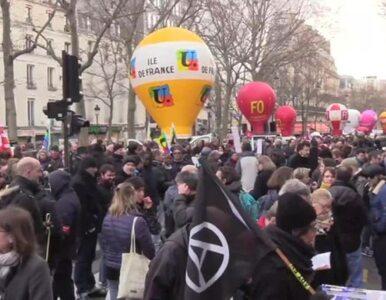 Protesty we Francji przeciwko reformie Macrona. Policja użyła gazu...