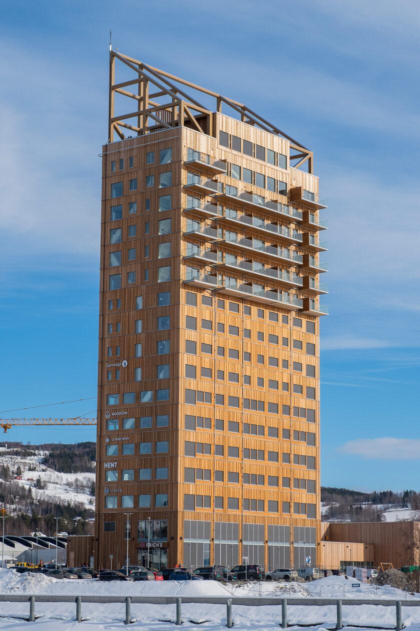 Najwyższy budynek z drewna
