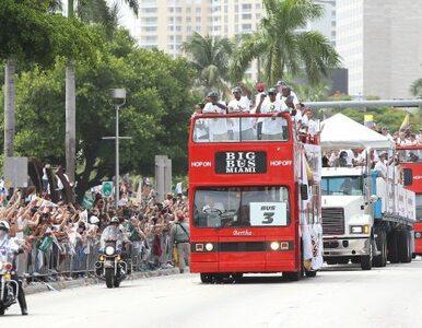 Koszykarze Miami Heat triumfują. Wielka feta na ulicach miasta