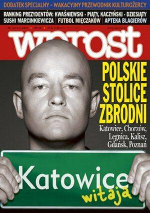 Okładka tygodnika Wprost nr 25/2006 (1228)
