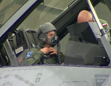 Stoch spełnił swoje marzenie i przeleciał się... F16