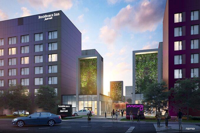 Nowe hotele sieci Marriott wWarszawie