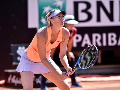 """Szarapowa nie zagra w turnieju French Open. Nie dostała """"dzikiej karty"""""""