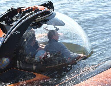 Władimir Putin oglądał wrak okrętu podwodnego. Kreml pokazał jego...