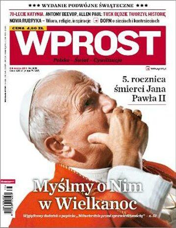 Okładka tygodnika Wprost nr 14-15/2010 (1418)