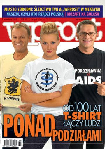 Okładka tygodnika Wprost nr 36/2003 (1084)