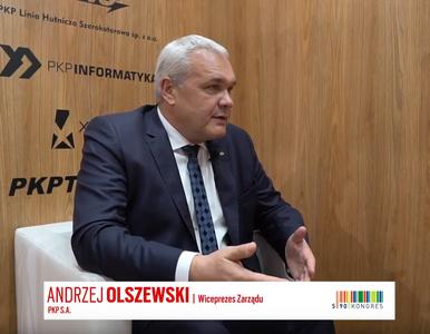 Andrzej Olszewski, wiceprezes Zarządu PKP S.A., o najbliższych...