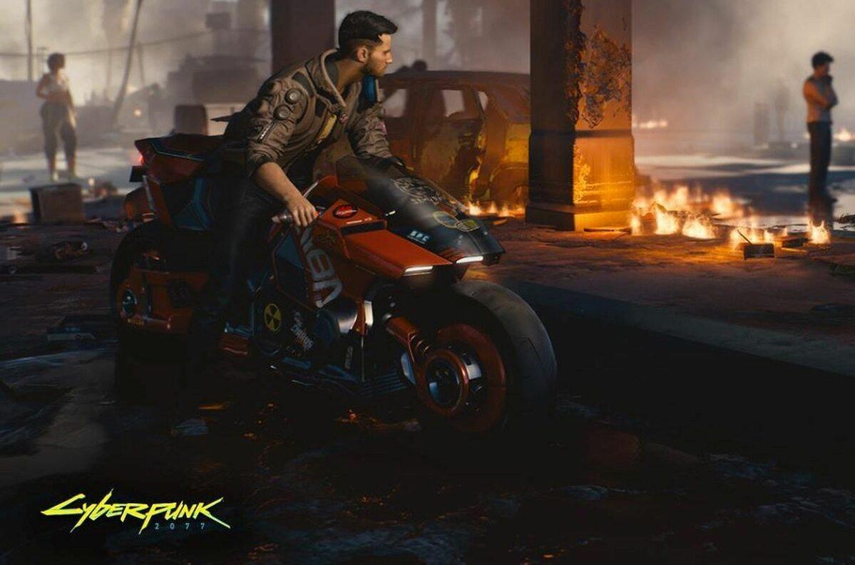 Screen z gry Cyberpunk 2077