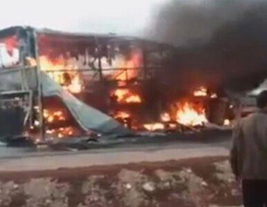 Pożar autobusu w Maroku. Ponad 30 ofiar śmiertelnych