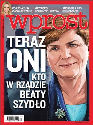 Okładka tygodnika Wprost nr 44/2015 (1703)