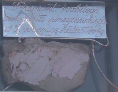 """Fragment tupolewa i ziemia ze Smoleńska uhonorowane w Kościerzynie. """"To..."""