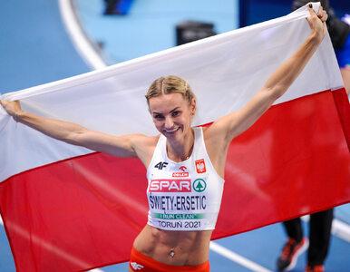 Halowe Mistrzostwa Europy. Srebrny medal Justyny Święty-Ersetic