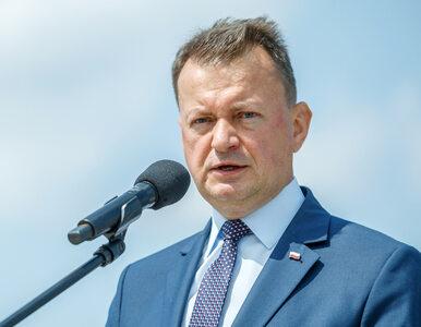 """Sytuacja na granicy z Białorusią. Błaszczak o """"pożytecznych idiotach"""""""