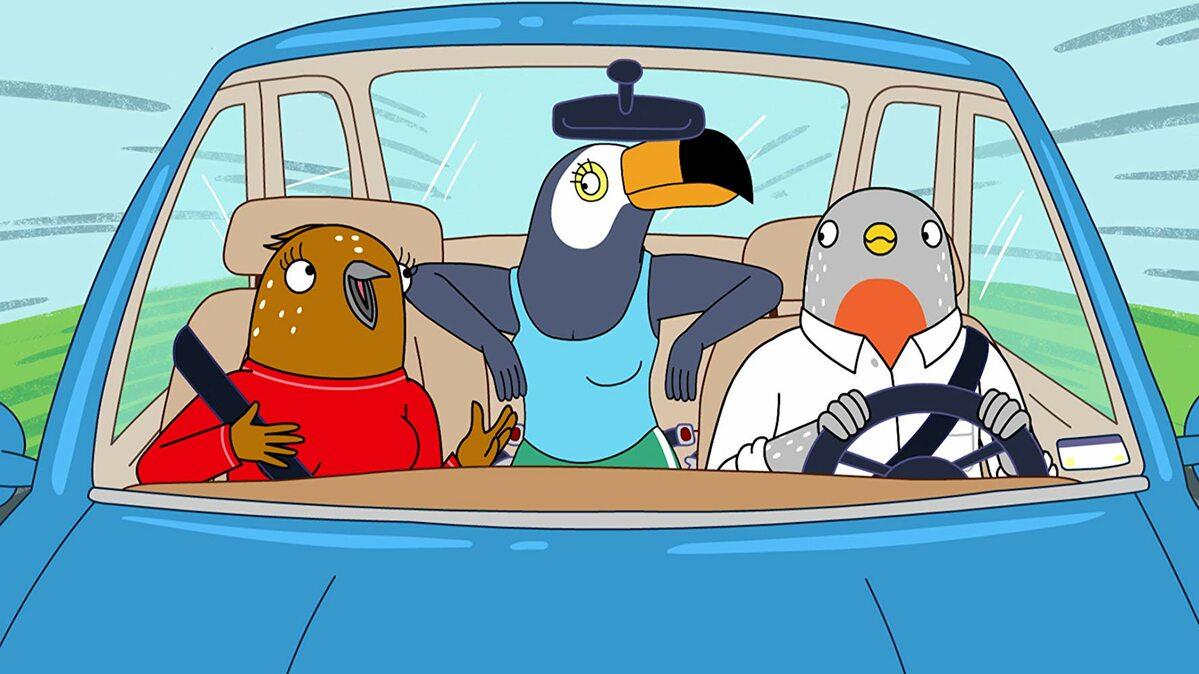 """Kadr z serialu """"Tuca i Bertie"""""""