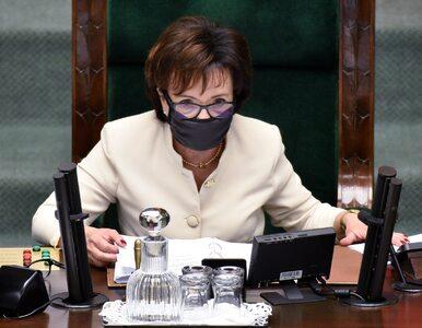 """Elżbieta Witek zdenerwowana podczas konferencji. """"Proszę więcej o to nie..."""