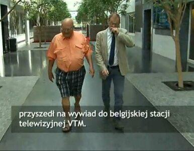 Belgia: premier przyszedł na wywiad w... sandałach i krótkich spodenkach