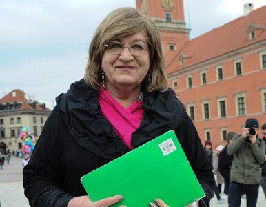 Grodzka: To może być ostatni dzień mojej kampanii prezydenckiej
