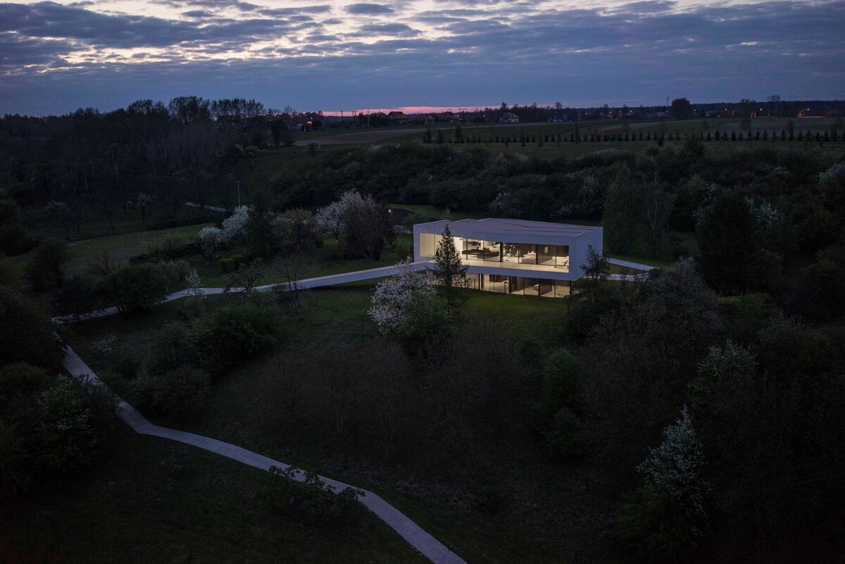 Dom po drodze Dom po drodze w Centralnej Polsce