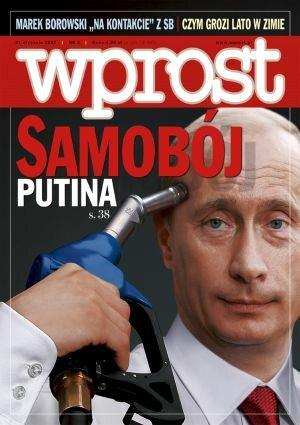 Okładka tygodnika Wprost nr 3/2007 (1256)
